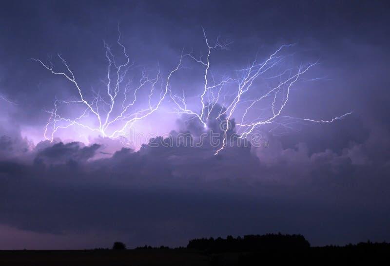 Thunderstorm στοκ εικόνα