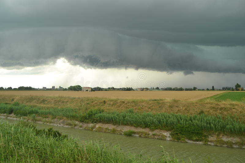 thunderstorm imagem de stock royalty free