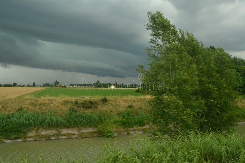 thunderstorm imagens de stock royalty free