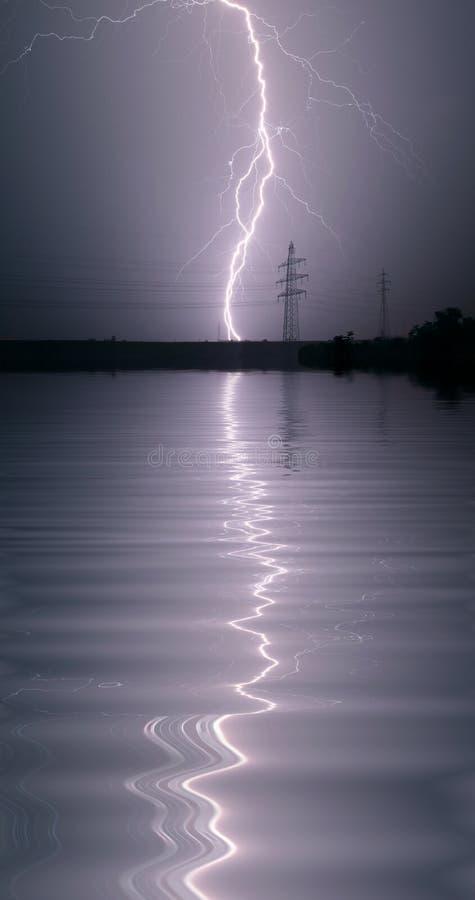 thunderstorm στοκ φωτογραφία με δικαίωμα ελεύθερης χρήσης