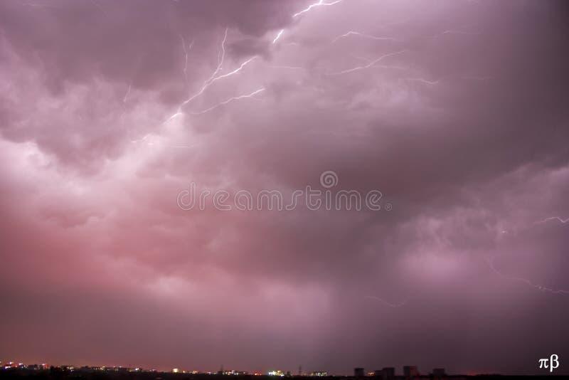 thunderstorm immagine stock libera da diritti