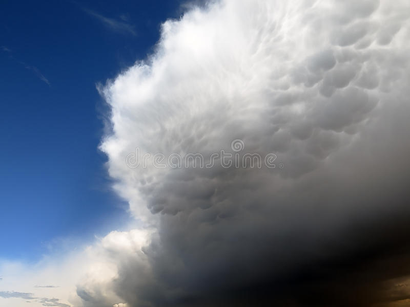 thunderstorm immagini stock