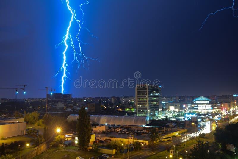 thunderstorm foto de stock