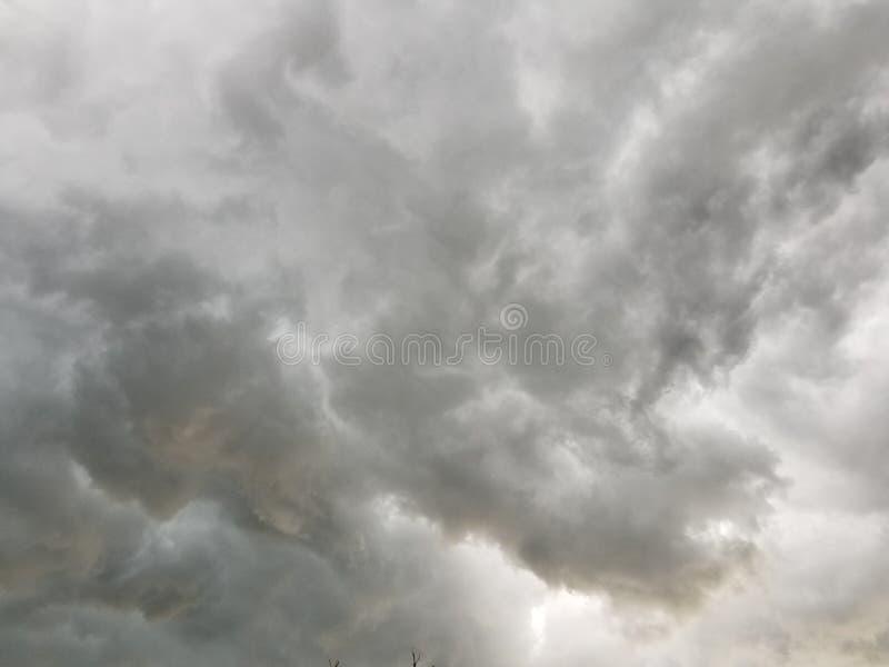 Thunderstorm stock photography