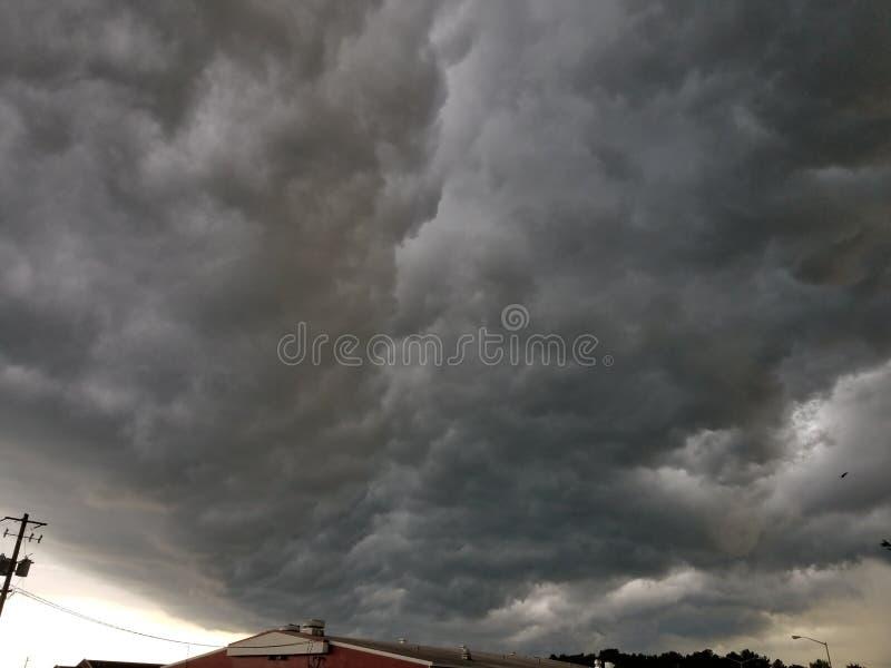 Thunderstorm royalty free stock image