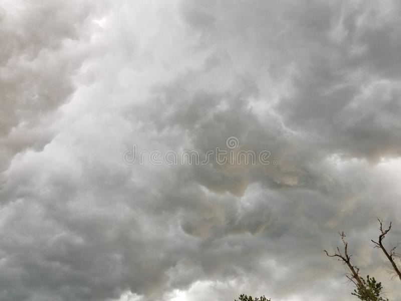 Thunderstorm royalty free stock images