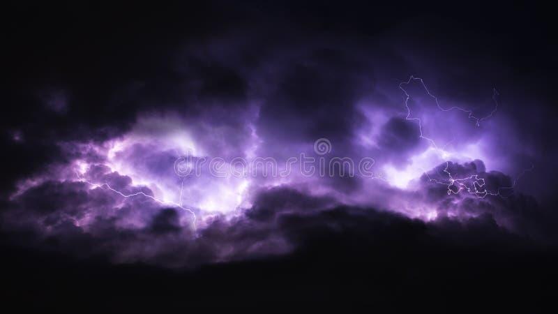 Thunderstorm royalty free stock photo