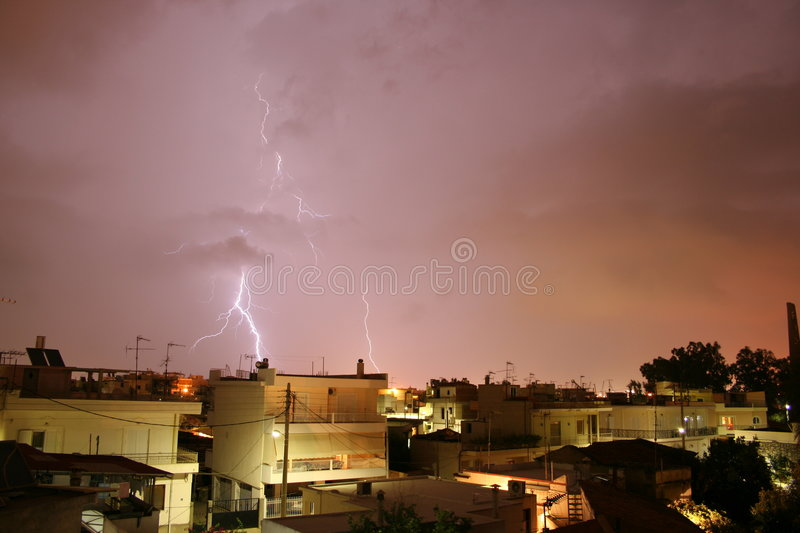 Download Thunderstruck Stock Image - Image: 1266431
