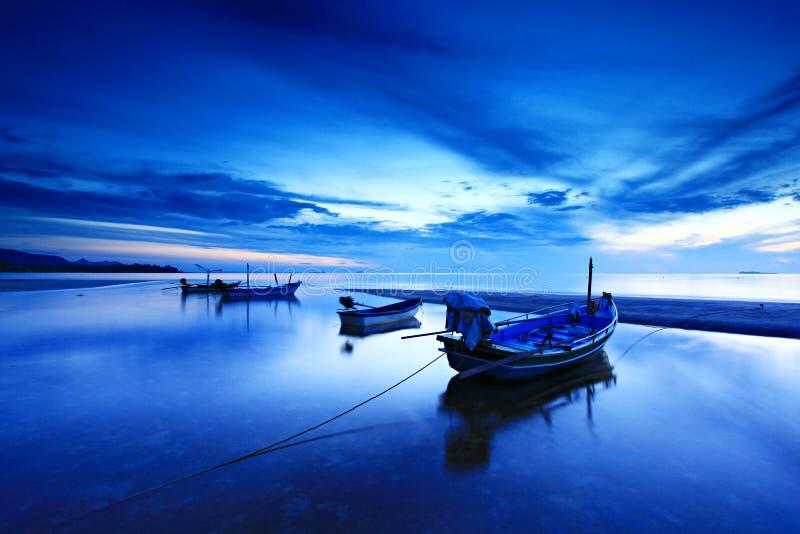 Thung wua laen海滩 免版税图库摄影