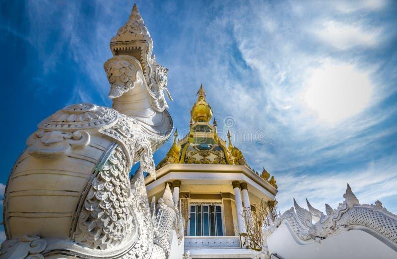 ThungSetThi寺庙(Khonkaen) 库存图片