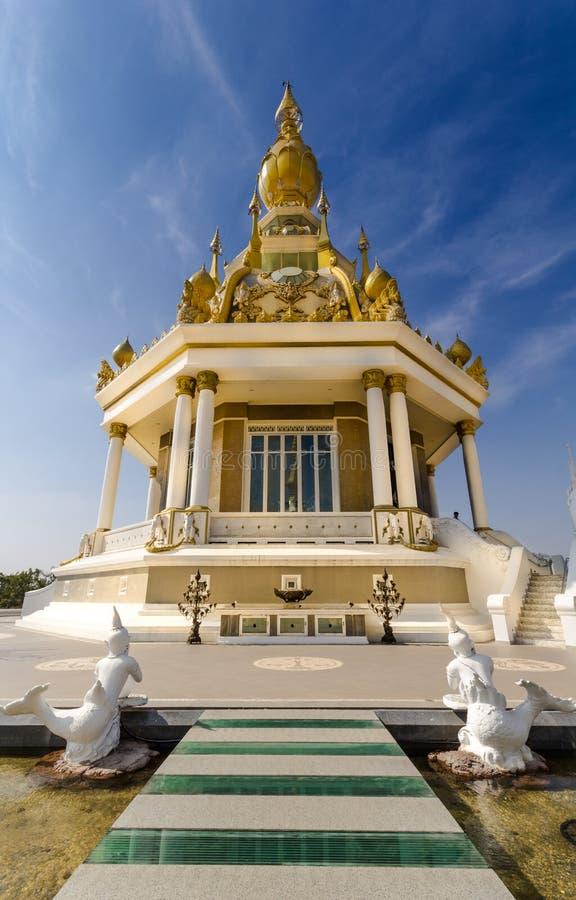 ThungSetThi寺庙(Khonkaen) 库存照片