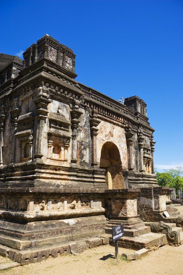 Thuparama, Polonnaruwa, Sri Lanka imagen de archivo