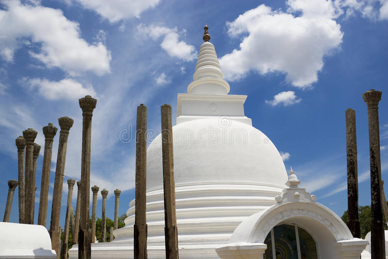 thuparamaya ναών sri lanka anuradhapura στοκ εικόνα με δικαίωμα ελεύθερης χρήσης