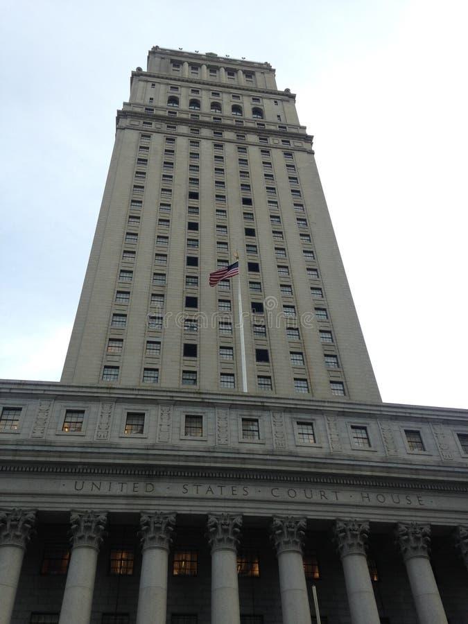 Thurgood Marshall United States Courthouse em Manhattan fotos de stock