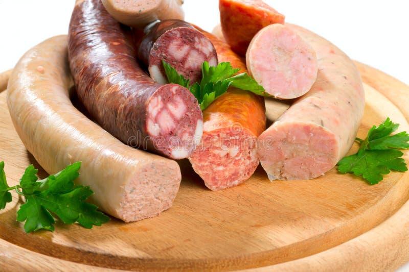 Download Thuringia sausage stock image. Image of sausage, meat - 16714277