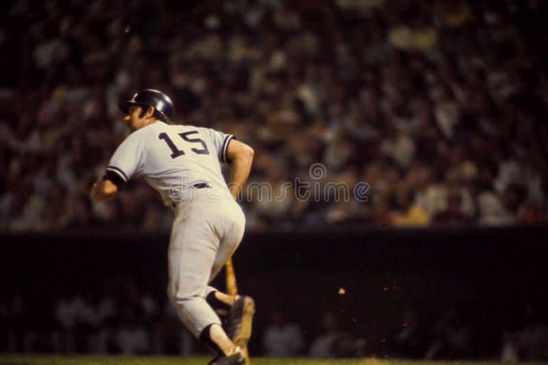 Thurman Munson New York Yankees royalty-vrije stock foto
