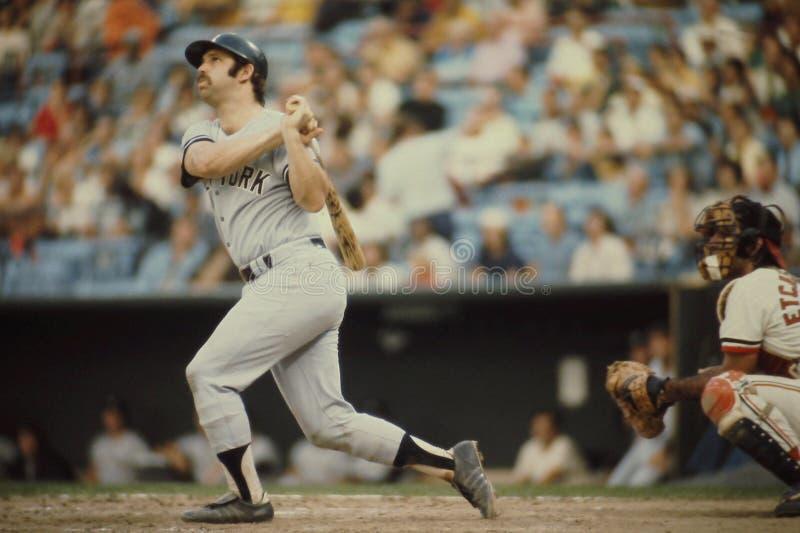 Thurman Munson New York Yankees royalty free stock images