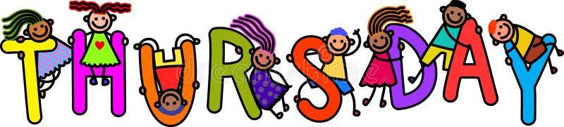 Thursday Kids Stock Illustrations – 139 Thursday Kids Stock Illustrations,  Vectors & Clipart - Dreamstime