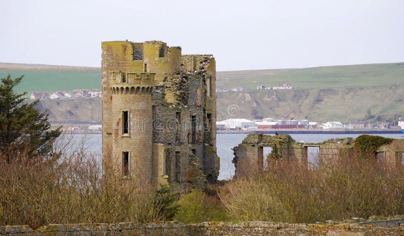 Thurso Castle στοκ φωτογραφία με δικαίωμα ελεύθερης χρήσης