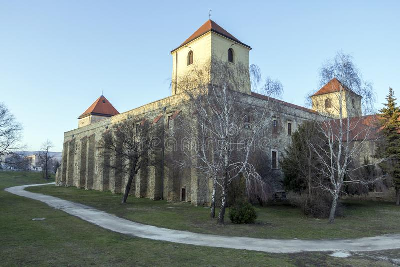 Thury castle in Varpalota. Thury castle museum in Varpalota, Hungary royalty free stock photography