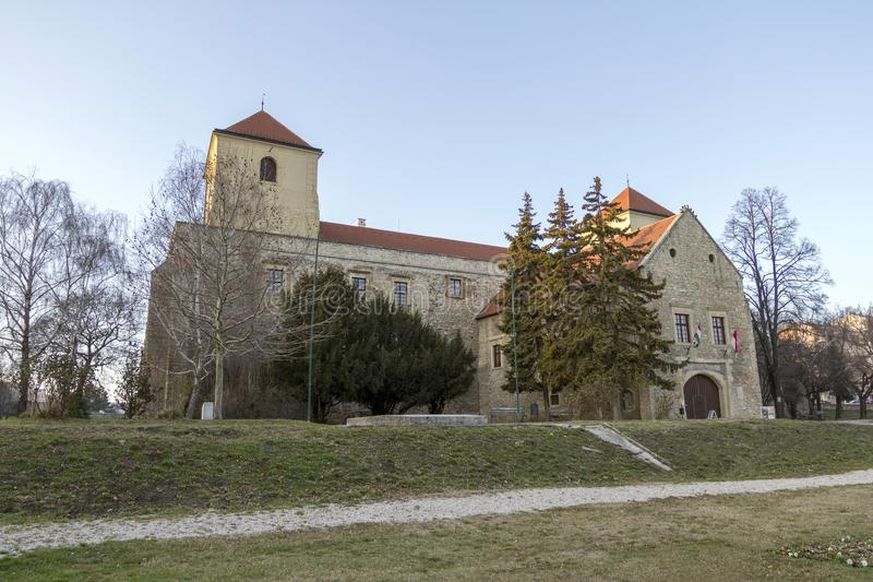 Thury castle in Varpalota. Thury castle museum in Varpalota, Hungary stock images