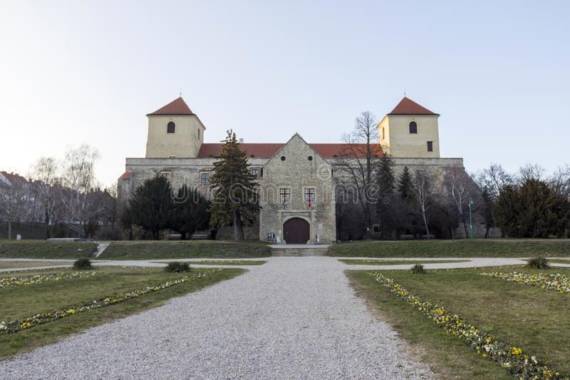 Thury castle in Varpalota. Thury castle museum in Varpalota, Hungary royalty free stock photos