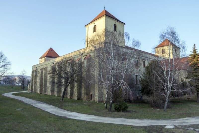 Thury slott i Varpalota royaltyfri fotografi