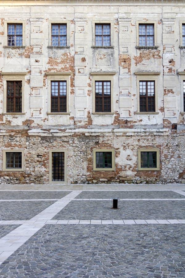 Thury slott i Varpalota royaltyfria bilder