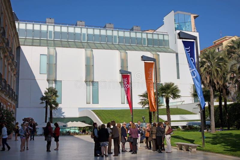 Thyssen-Bornemisza muzeum w Madryt obraz royalty free