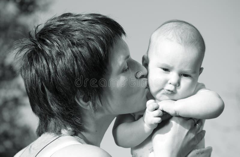 Ti amo molto molto, il mio bambino meraviglioso! fotografie stock