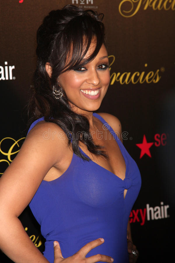 Download Tia Mowry-Hardrict Arrives At The 37th Annual Gracie Awards Gala Editorial Stock Photo - Image: 25274738