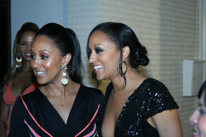 Tia and Tamera Mowry #1 stock images