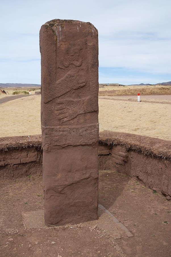 Tiahuanaco Bolivia stock image