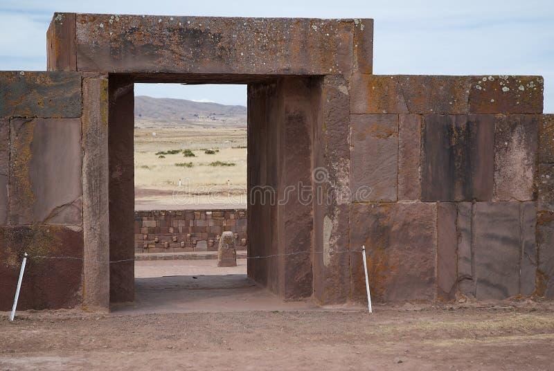 Tiahuanaco Bolivia royalty free stock images