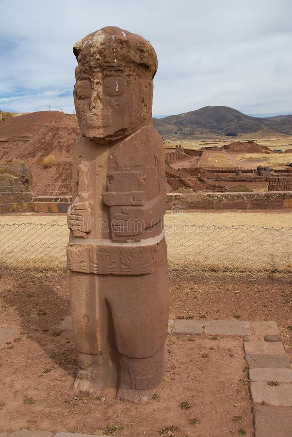 Download Tiahuanaco Bolivia stock photo. Image of tiwanaku, civilization - 27491616