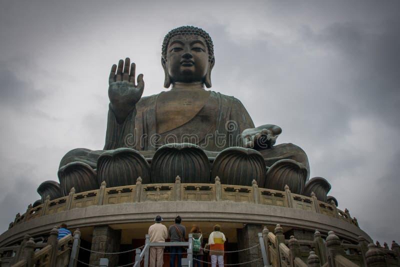 tian Будды Hong Kong tan стоковые фотографии rf