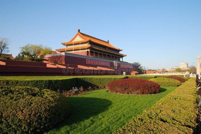 Download Tian Anmen do Pequim China fotografia editorial. Imagem de céu - 29827857