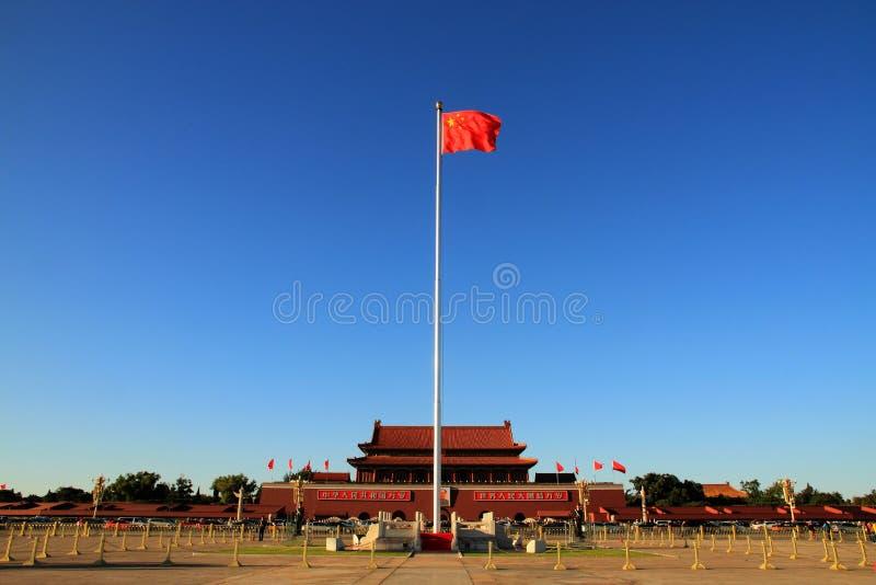 Tian'anmen kvadrerar i Beijing royaltyfri fotografi