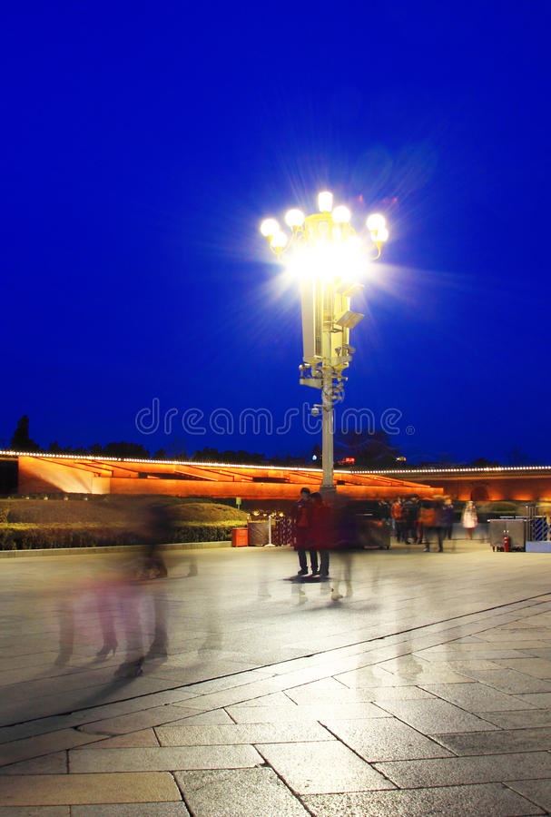 Tian anmen square royalty free stock image