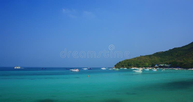Tian Beach In Koh Larn Pattaya Thailand Royalty Free Stock Photography