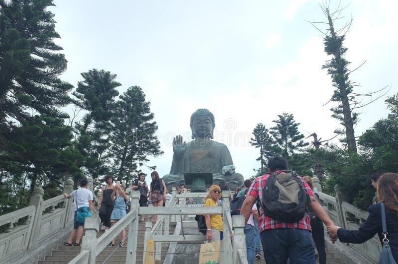 Tian buddha tan, Hong Kong fotografia de stock royalty free