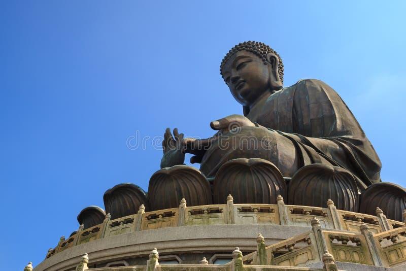 Tian Dębny Gigantyczny Buddha fotografia stock