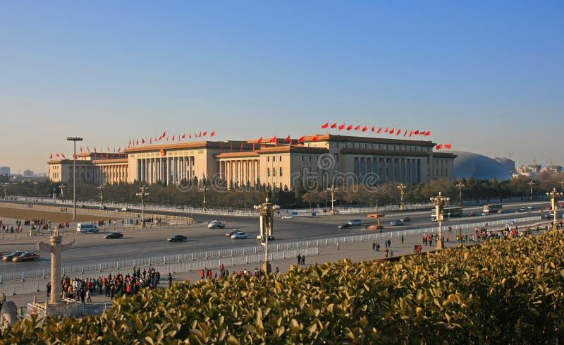 Tian-An-Menquadrat lizenzfreies stockbild