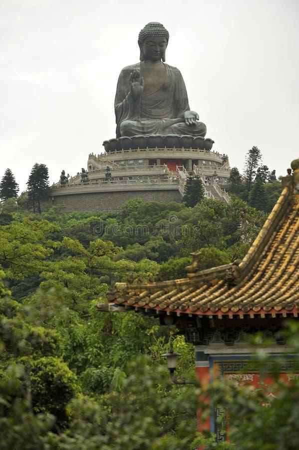 Tian Tan Βούδας στοκ φωτογραφίες με δικαίωμα ελεύθερης χρήσης
