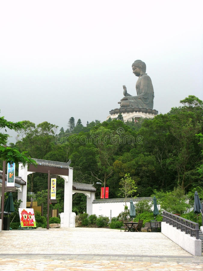 Tian Tan Buddha fotografie stock libere da diritti