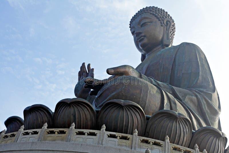 Tian Tan Buddha immagini stock libere da diritti