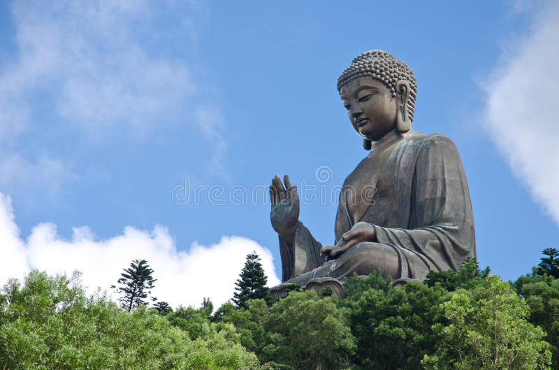 Tian Tan Buddha fotos de stock royalty free