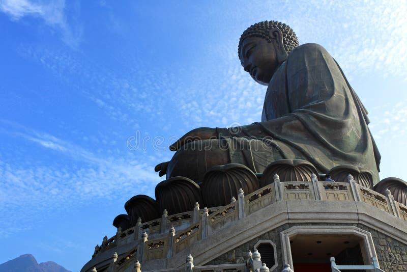 Tian Tan Buddha immagine stock