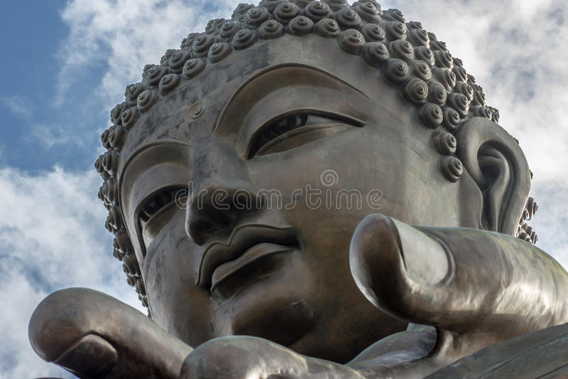 Tian Tan Buddha fotografia stock libera da diritti