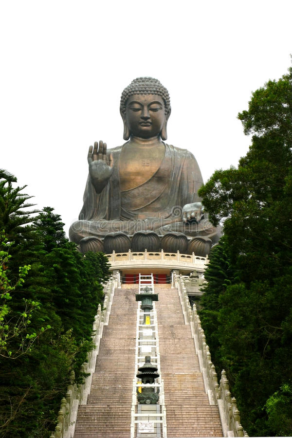 Tian Tan Buddha fotografie stock